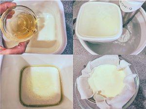 ボニーク 低温調理 カッテージチーズ作り方