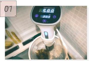 ボニークの低温調理画像