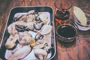 牡蠣のコンフィ 材料